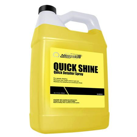 NANOSKIN QUICK SHINE Quick Detailer Spray RTU -1Gal - Walmart.com