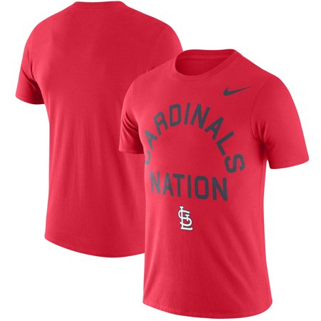 St. Louis Cardinals Nike Local Phrase Performance T-Shirt - (Nike Roshe Run Siren Red For Sale)