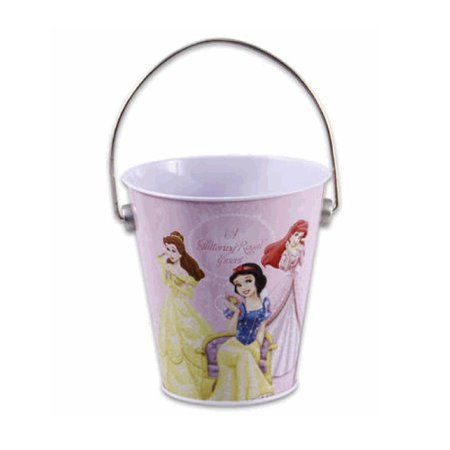 Small Tin Buckets (Disney Princess Tin Bucket - Princesses Small)