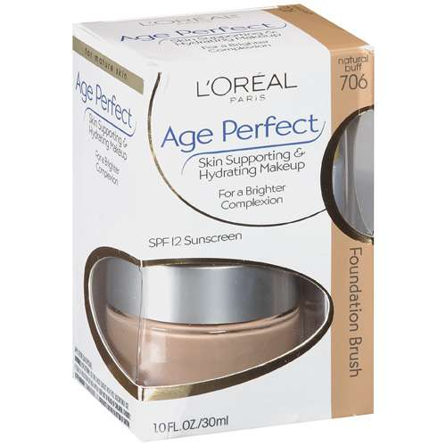 Loreal Paris Age Perfect Skin Supporting & Hydrating Makeup For Mature Skin - Natural Buff #706