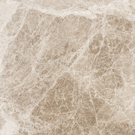 Marbletiledirect Cedar Emerador Brown Marble 18-inch x 18-inch x 1/2-inch Polished & Beveled Tiles