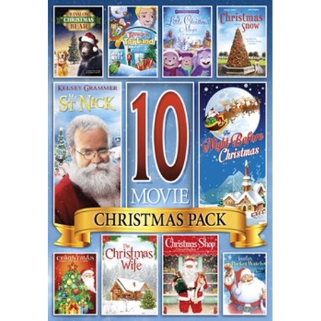 10-Movie Christmas Collection (DVD) (Trading Christmas Movie)