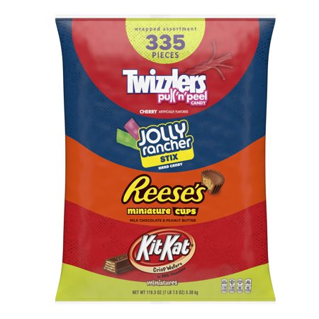 Hershey Candy Assortment, 335 Ct, 119 Oz