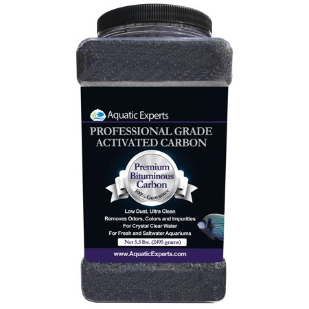 Premium Activated Carbon Aquarium Filter Charcoal Media - Remove odors - 5.5 lbs