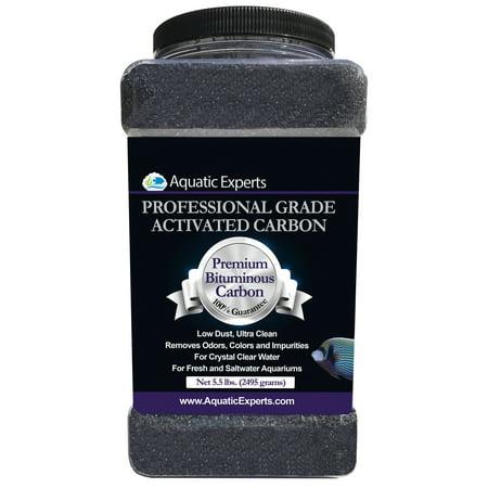 - Premium Activated Carbon Aquarium Filter Charcoal Media - Remove odors - 5.5 lbs