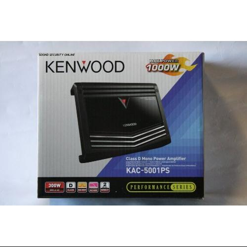 Kenwood Performance Kac-5001ps Car Amplifier - 1000 W Pmpo - 1 Channel - Class D - 8 Ohm - 100 Db Snr - 1% Thd - 20 Hz To 200 Hz - Mosfet Power Supply - 1 X 300 W @ 4 Ohm - 1 X 500 W @ 2 (kac-5001ps)