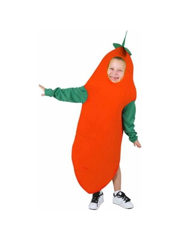 Child Carrot Costume  sc 1 st  Walmart & Child Carrot Costume - Walmart.com