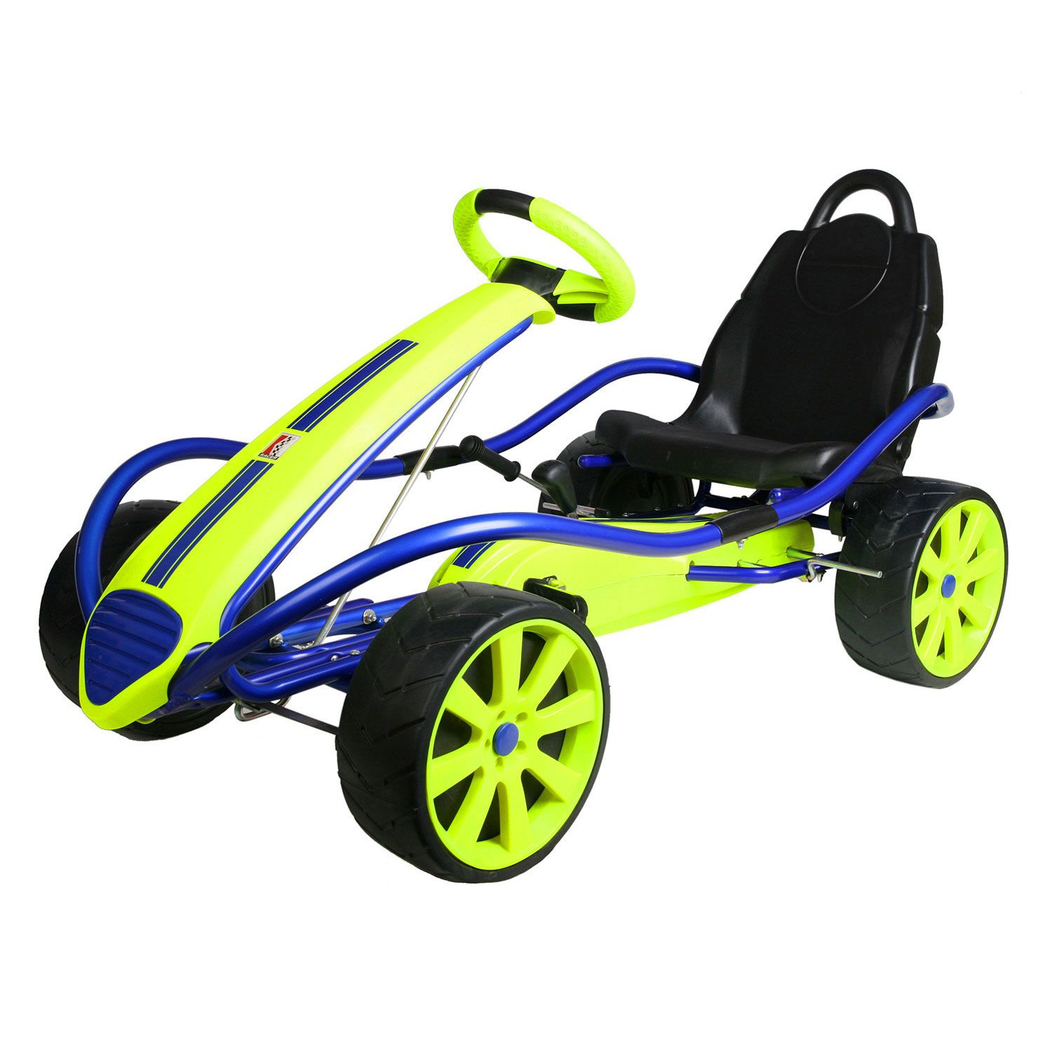 Kettler Sport Kid Racer Pedal Car - Blue/Yellow