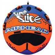 Airhead Super Slice Inflatable Triple Rider Towable Black/Blue