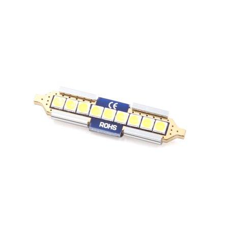 2Pc 31mm Blanc 3 LED Festoon Voiture Lampe Inte DomeLampe 12V - image 2 de 3
