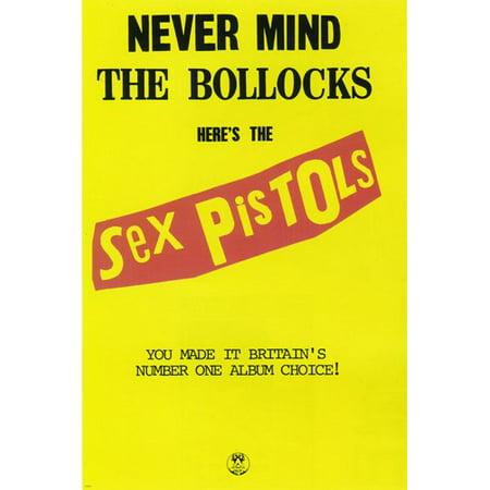 Sex Pistols Never Mind The Bullocks Album Poster Punk Rock Attitude 24X36](Punk Rock Decor)