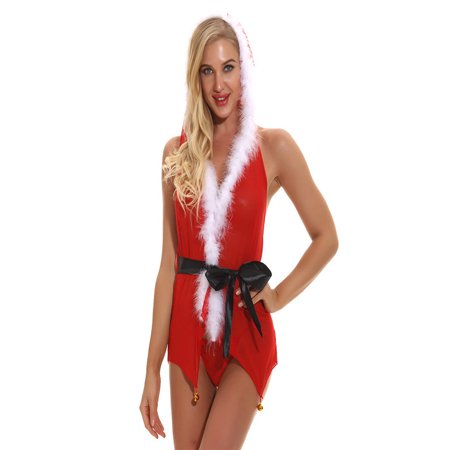 Christmas Fashion Women Sexy Underwear Perspective Temptation - Christmas Parties