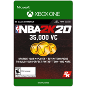 NBA 2K20 35,000 VC, 2K Games, Xbox [Digital Download]