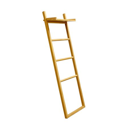ASTA Home Furnishing Spa Teak Towel Ladder with Shelf ()