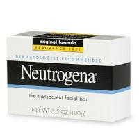 Neutrogena Transparent Facial Soap, Original Formula, Fragrance Free - 3.5 Oz, 2 Pack
