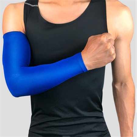 Basketball Barcer Long Style Exercise Cycling Hand Sunscreen Arm Elbow Warmers Men Women Non-slip Thin Protector Leg Protect Cuffs (Basket Screen)