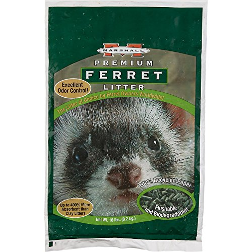 Marshall Ferret Litter, 50-Pound Bag