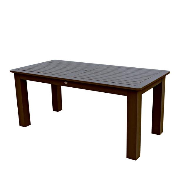 Highwood Eco Friendly Rectangular 36x72 Dining Table Walmart Com Walmart Com