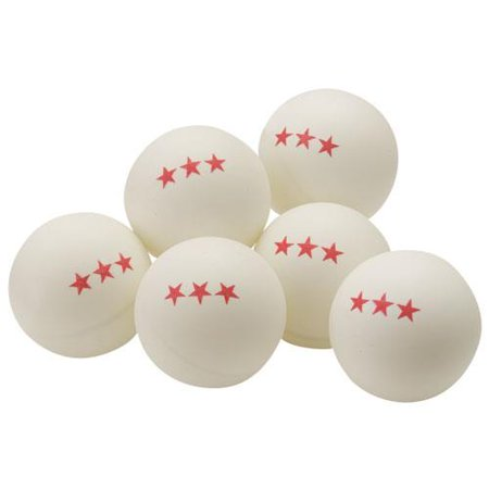 Tournament 3 Star Ping Pong Balls Box Of 6 Walmart Com