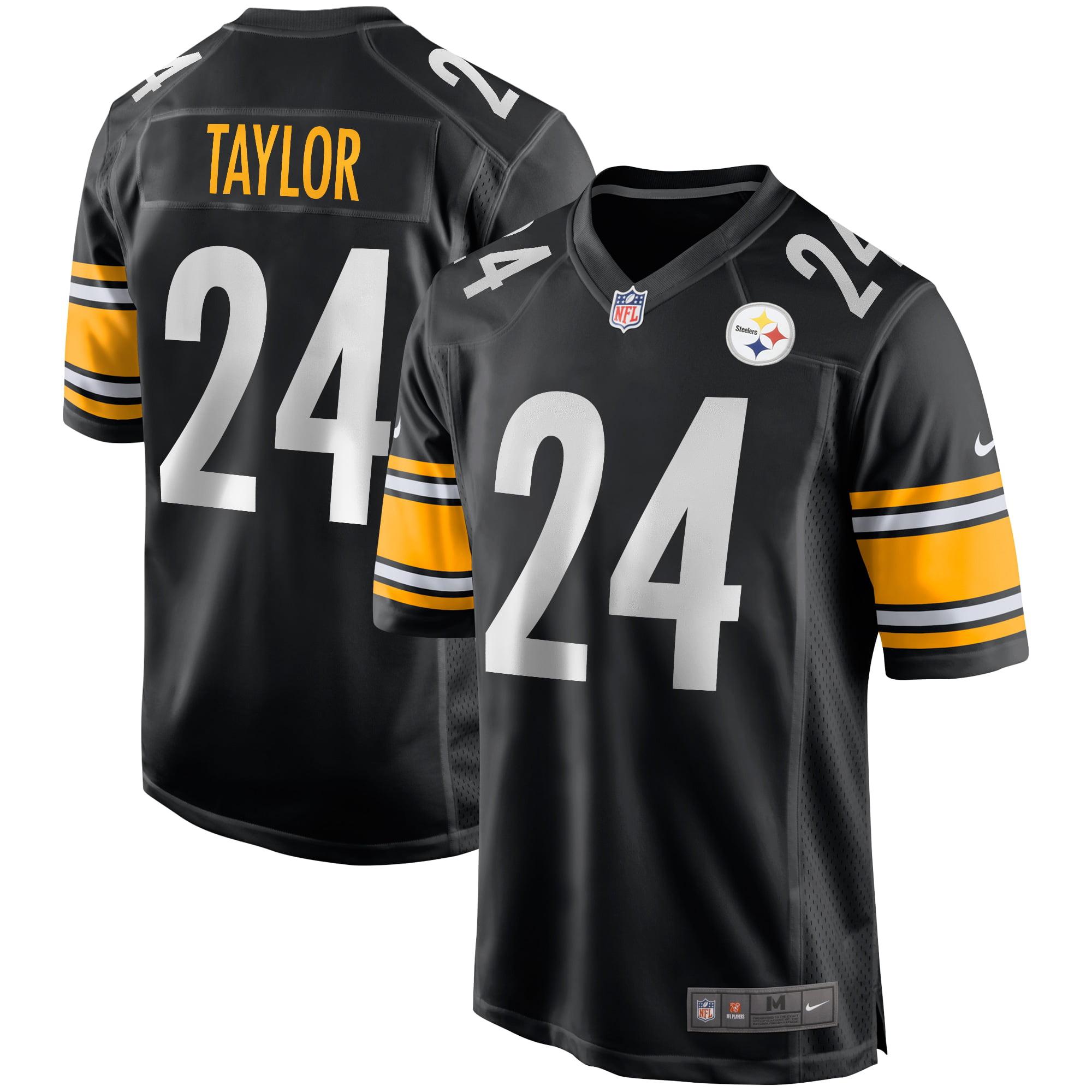 Ike Taylor Pittsburgh Steelers Nike Game Retired Player Jersey - Black - Walmart.com