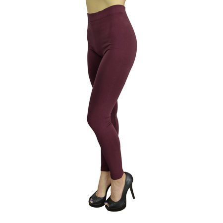 Toga For Women (High Waist Leggings for Women Fashion, Gym, Yoga or Casual - 10 Trendy Colors - Regular Size -)