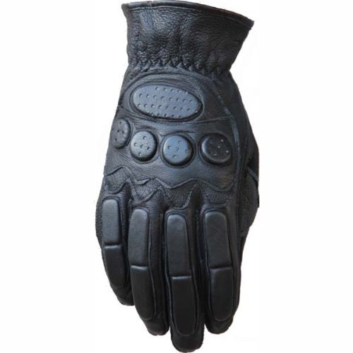 New Motorcycle Men's Lamb Leather Gloves 802 (XL)