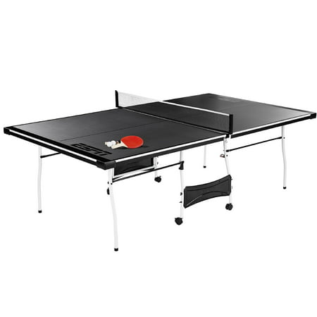 Espn Mid Size Folding Table Tennis Table With Paddles And