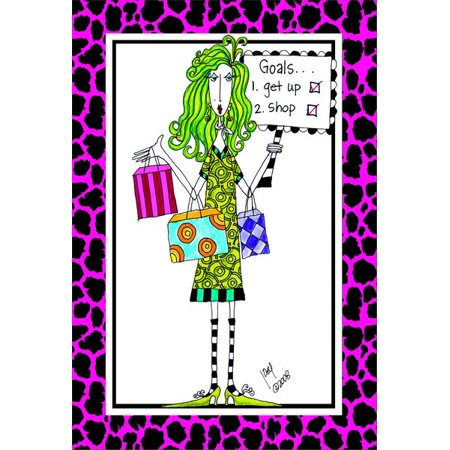 Pictura Goals Dolly Mama Funny / Humorous Birthday Card