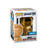 Funko POP! Marvel: Avengers Endgame - W2 - Hulk (Orange Chrome) (Walmart Exclusive)