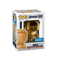 Funko POP! Marvel: Avengers Endgame - W2 - Hulk (Orange Chrome) (Walmart Exclusive)