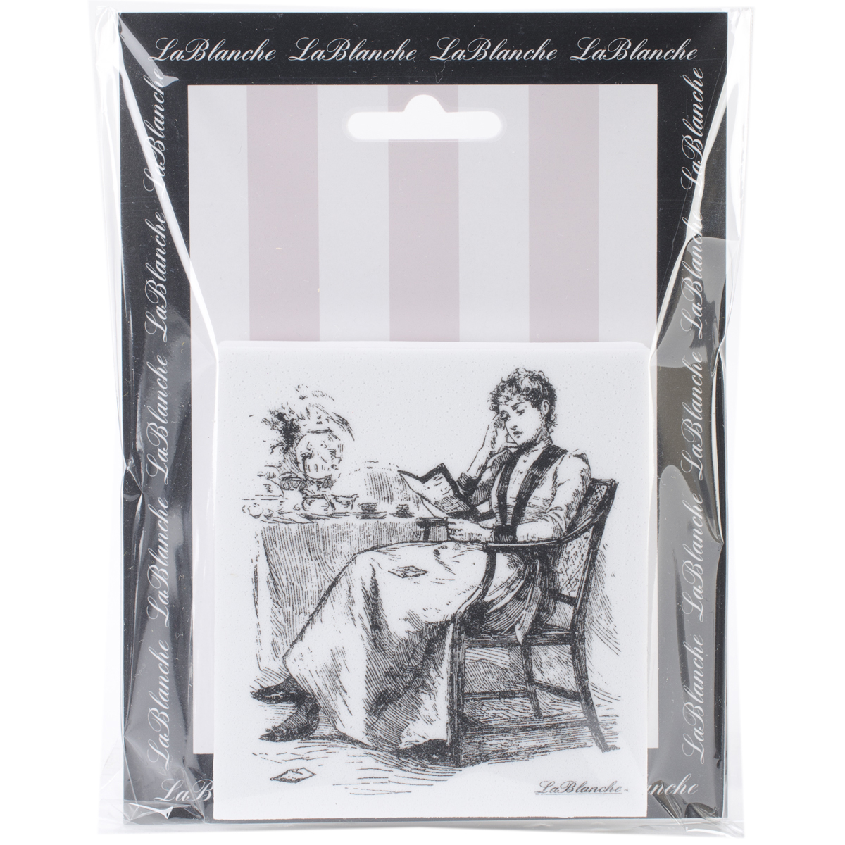 "LaBlanche Silicone Stamp 3.5""X3.25""-Morning Tea"