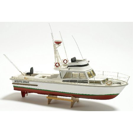 1/15 White Star American Motor Boat w/Vacu-Form Hull (Intermediate) (can be motorized-not included)