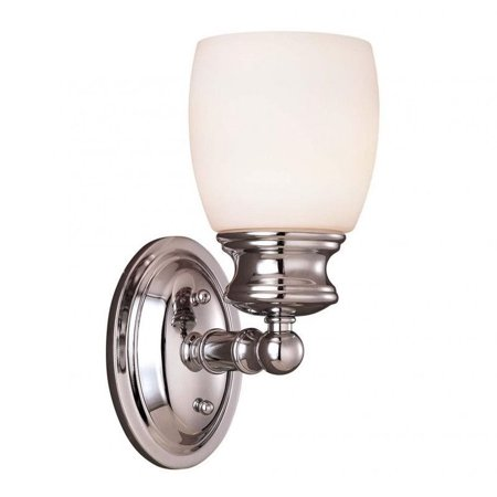Savoy House Elise Bath 1 Light Sconce in Polished Chrome