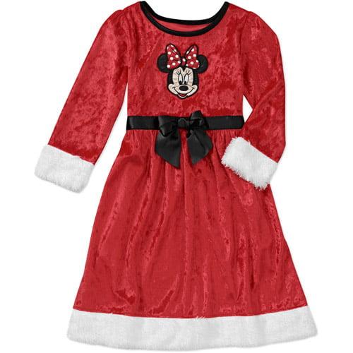 Baby Girls' Minnie Velour Dress Up Nightgown