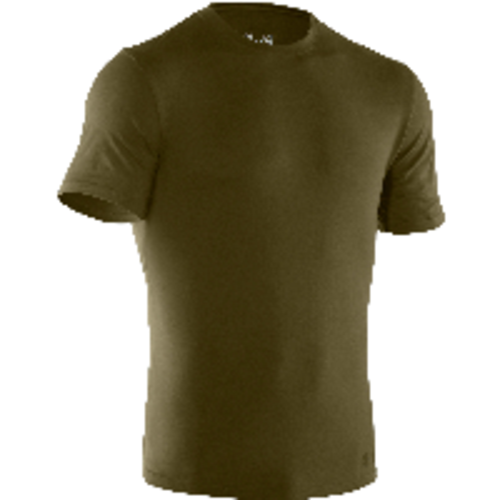 Under Armour 1234237 Men's OD Green Charged Cotton Tactical Short Sleeve T-Shirt 12342373902X