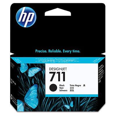 HP 711 38-ml Black DesignJet Ink -