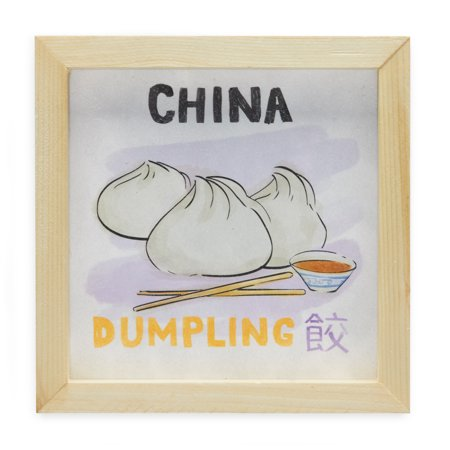 China Dumplings World Cuisine by Drew Barrymore Flower Kids (Block China Flower)