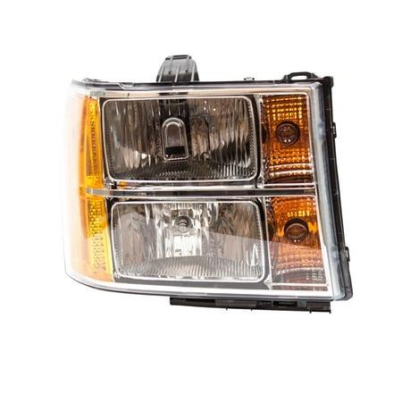 TYC 20-6819-00-9 Headlight Assembly for GMS SIERRA 1500 2500 HD 3500 HD ()