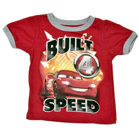 d433186dbf6d7 Boys Cars Lightning McQueen T-Shirt & Shorts 2-Piece Set 4T - image ...