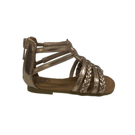 Wonder Nation Infant Girls' Gladiator Sandal
