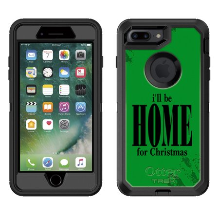 skin decal for otterbox defender apple iphone 7 plus case ill be home