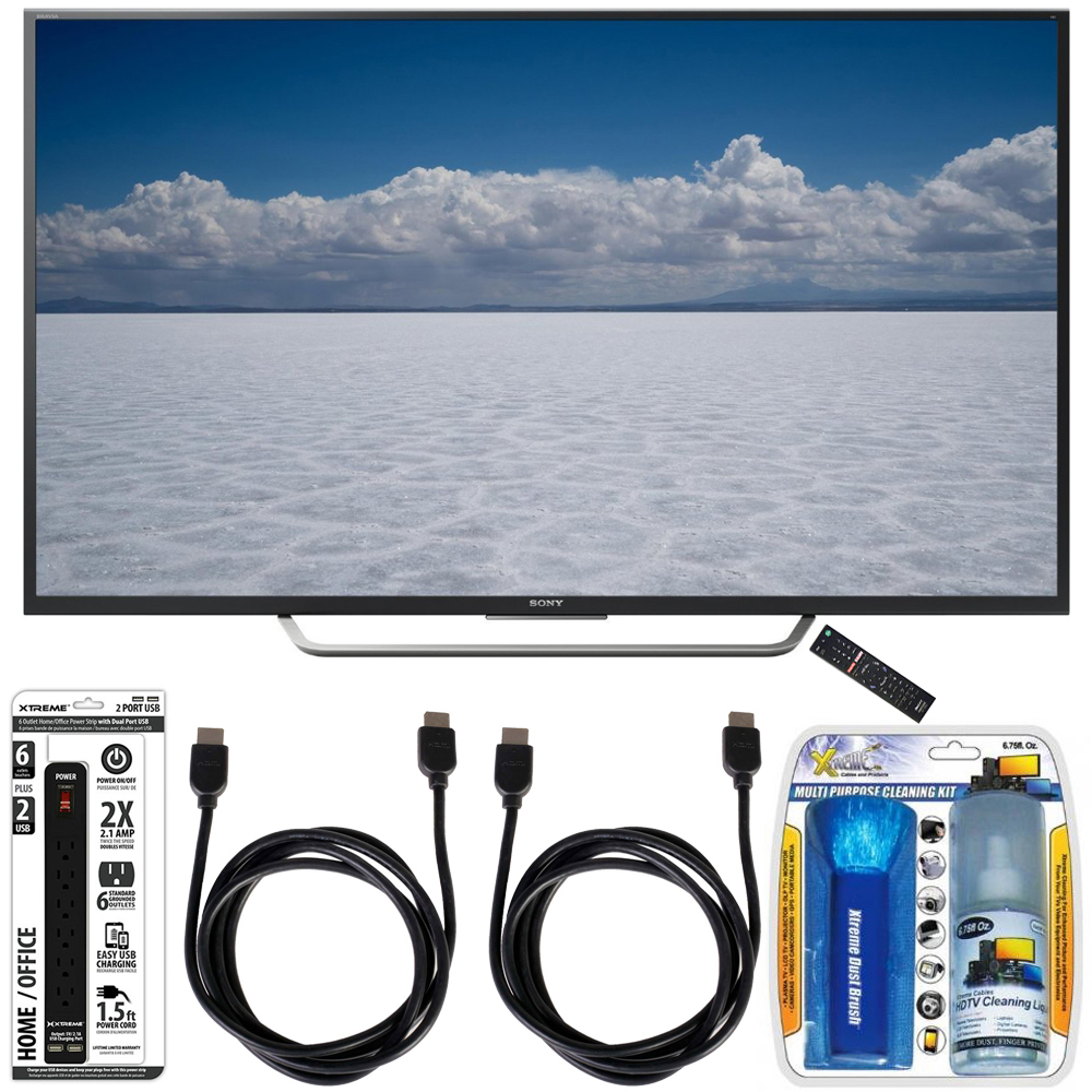 "Sony XBR-55X700D - 55"" Class 4K Ultra HD TV with Essential Accessory Bundle"