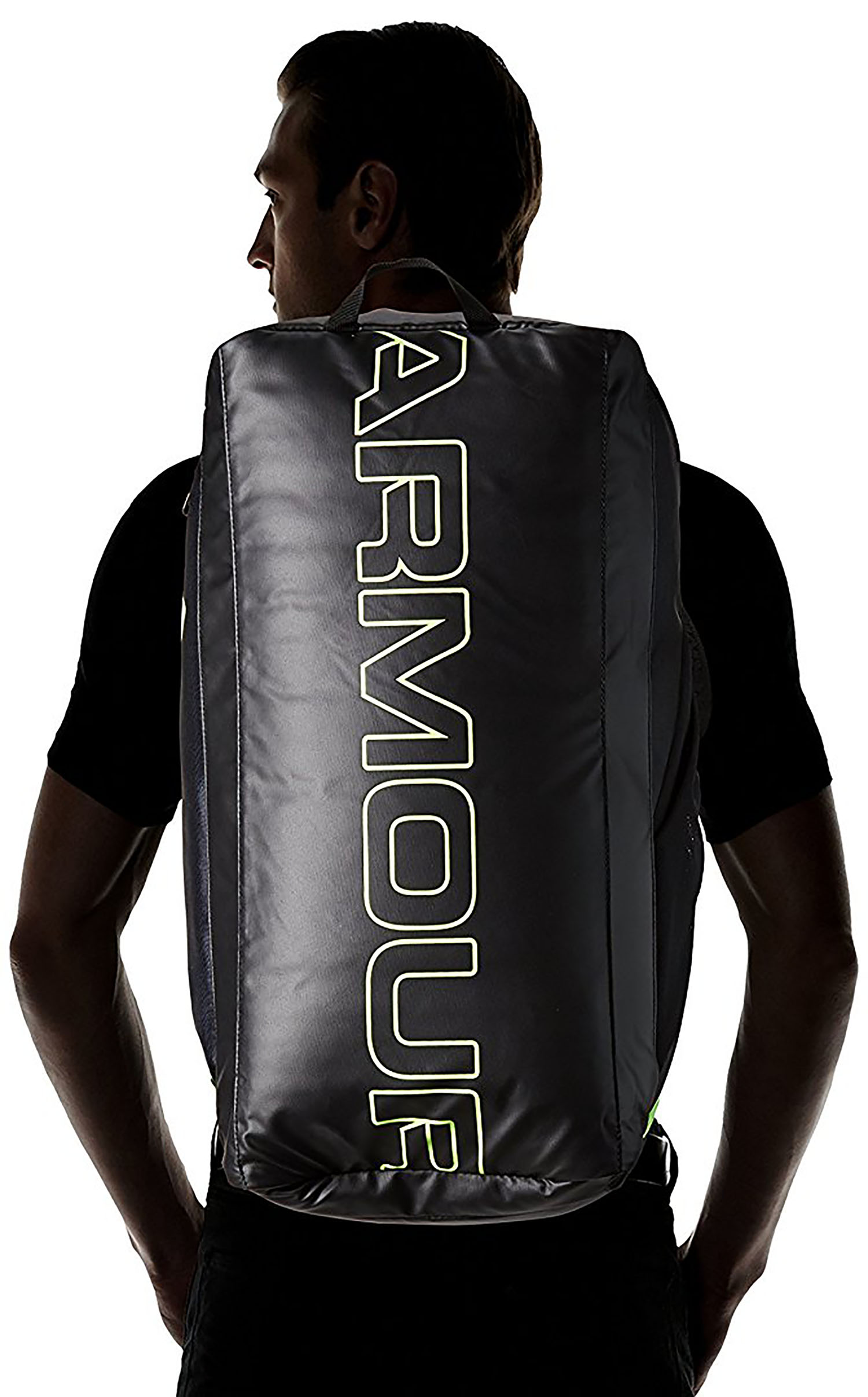4fe931312150 Under Armour Storm Undeniable Backpack Duffle Black Black Quirky Lime -  Walmart.com