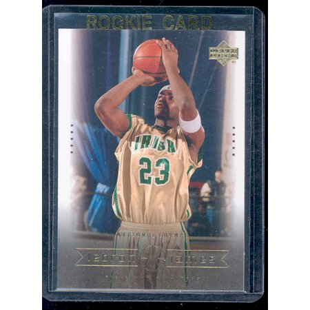 Upper Deck Rookie Class Card - 2003 Upper Deck #5 National Champs Lebron James Rookie Card