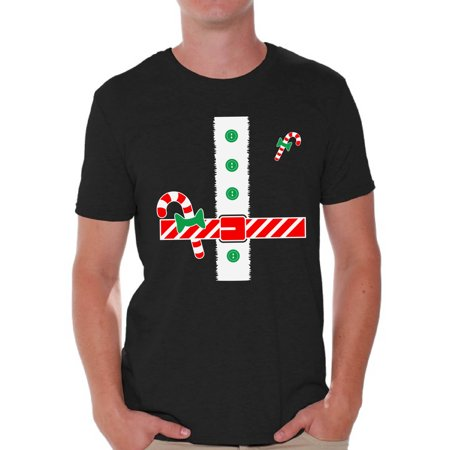 Awkward Styles Christmas Tuxedo Shirt for Men Awkward Styles Tuxedo Shirt for Guys Santa's Helper Funny Elf Holiday Party T-Shirt Xmas Gifts for Him Christmas Tee - Helper Elf
