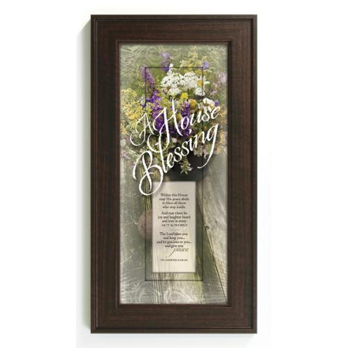 James Lawrence  'A House Blessing' Framed Wall Art