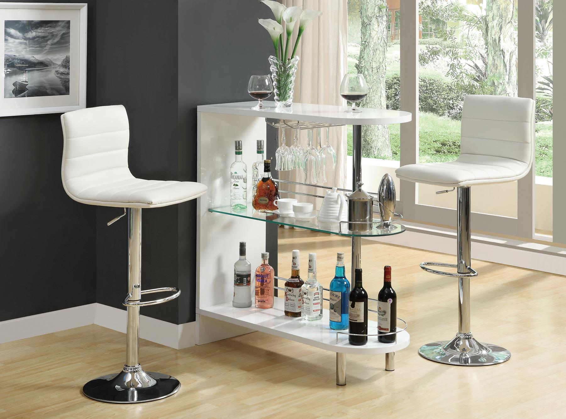 small bar table contemporary glass small bar unit dc furniture  - coaster modern bar unit multiple finishes walmartcom small round pub table