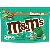Chocolate Candies: M&M's Mint Dark Chocolate