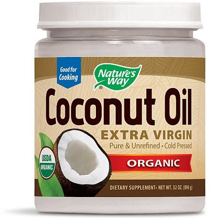 Nature's Way Organic Extra Virgin Coconut Oil, 32 Oz