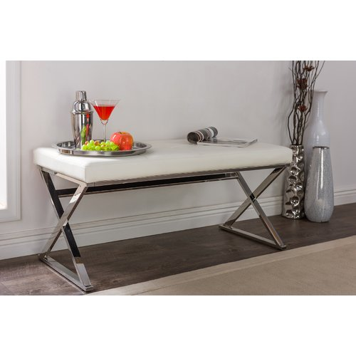 Latitude Run Serpentis Upholstered Bench